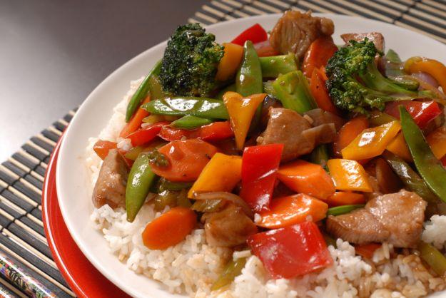 Wieprzowina z warzywami przepisy kuchnie wiata for Aloha asian cuisine