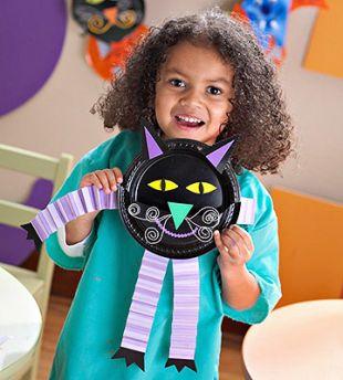 Śmieszne halloweenowe ozdoby dla dzieci