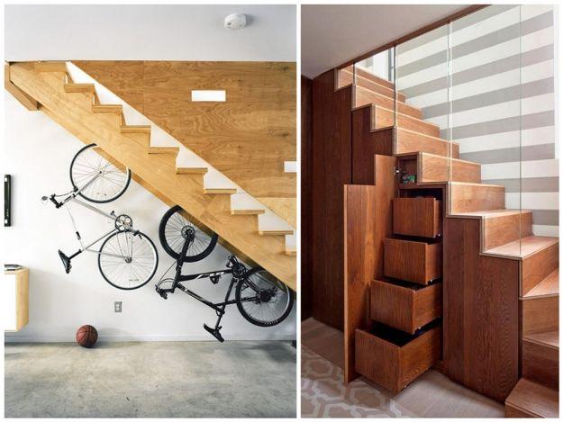Kreatywne wykorzystanie schodów