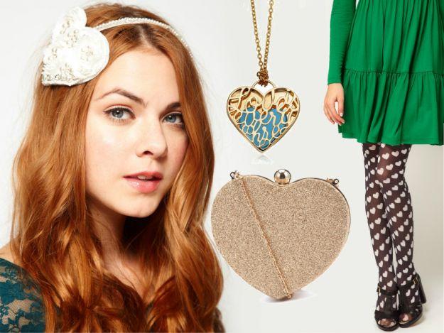 Serduszka w modzie - walentynkowy motyw na ubraniach i dodatkach!