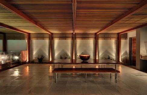 klimatyczne wnętrze domu z bali