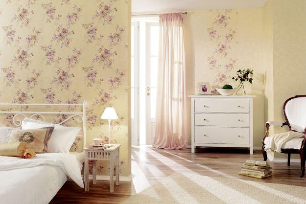Florystyczne dekoracje na ścianach