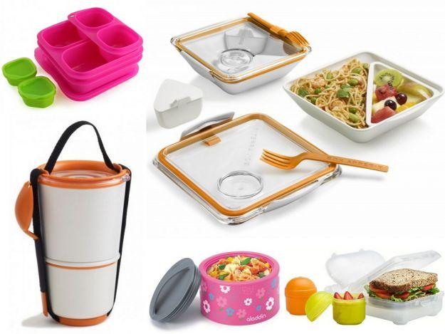 Praktyczne i designerskie pojemniki śniadaniowe