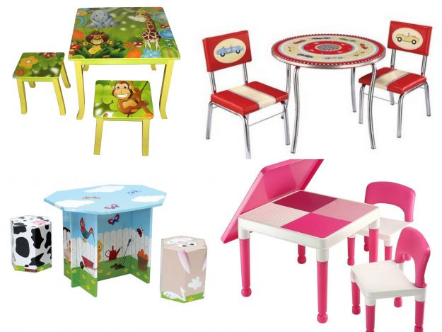 Kolorowe meble dla dzieci