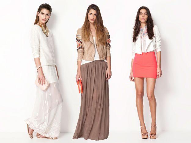 Nowe kolekcje - spódniczki na wiosnę i lato 2013