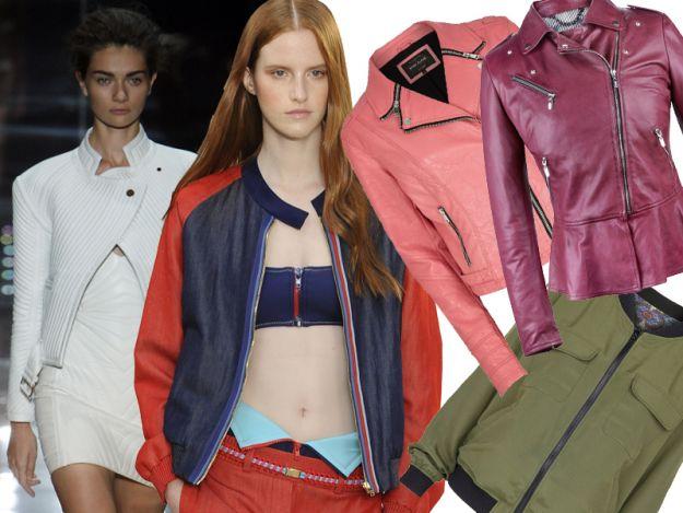 Najmodniejsze kurtki na wiosn� 2014