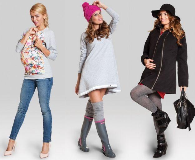 Ubrania ciążowe na jesień i zimę