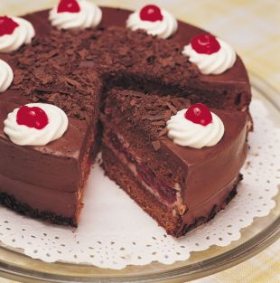 Ciasto czekoladowe z wisniami