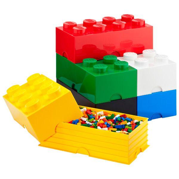 Wnętrza zainspirowane klockami lego
