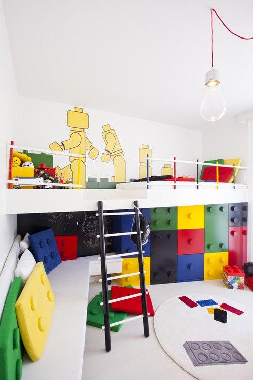 Wnętrza Zainspirowane Klockami Lego Aranżacje Wnętrz