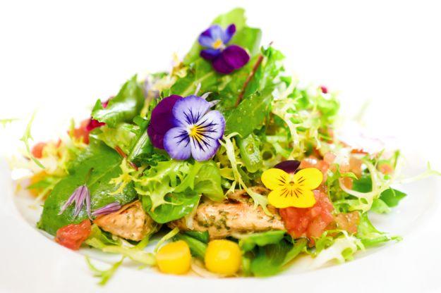 Kwiaty na talerzu - czy są wartościowym dodatkiem do posiłku?