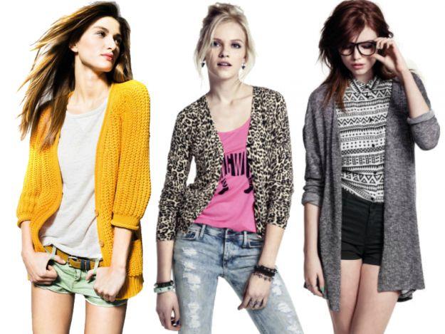 Wiosenne sweterki -
