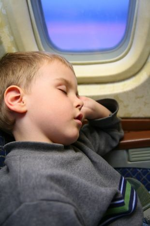 Nieletni na pokładzie samolotu