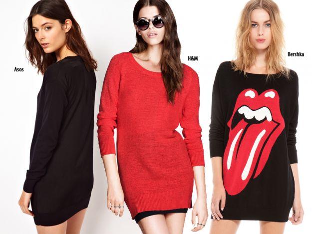 Jesienne sweterki - 6 modeli!