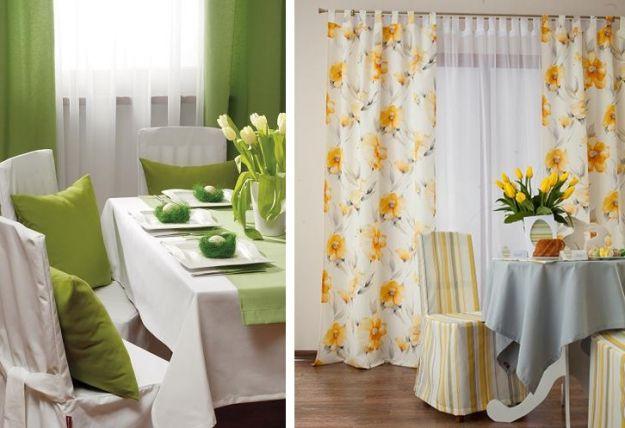 Wielkanocne dekoracje stołu - trendy 2012