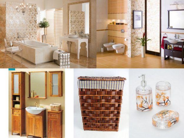 Łazienki w stylu śródziemnomorskim