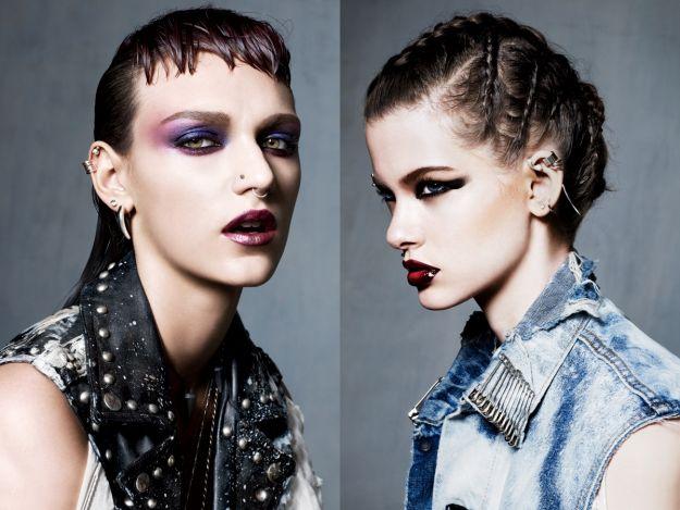 Gotycki makijaż