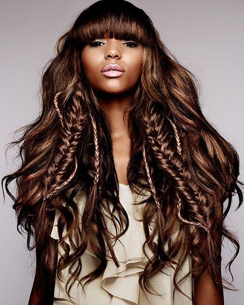 10 fryzur z włosów długich i półdługich na wiosnę!