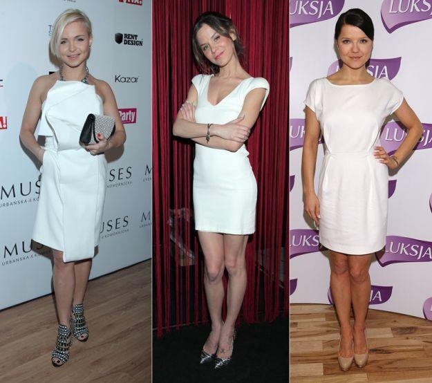 Biało-czarny trend na salonach