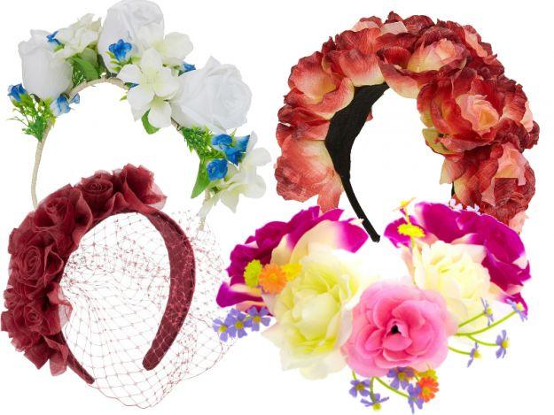 Kwiaty we włosach - 3 pomysły jak je nosić!
