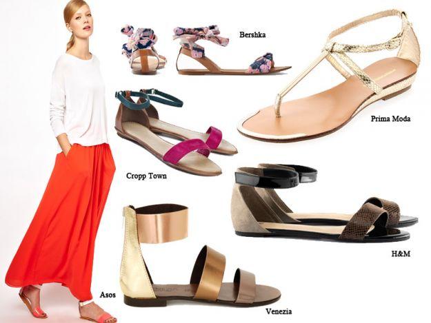Sandałki na lato - 4 modne rodzaje!