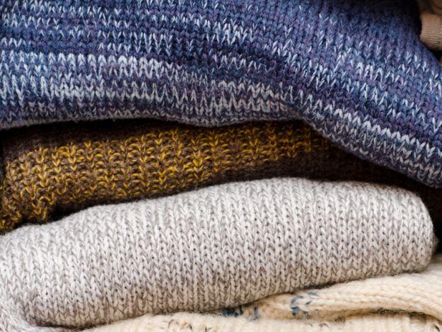 Jak uratować zmechacone ubrania?