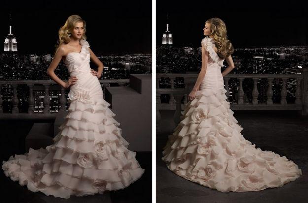 Pastelowe suknie ślubne
