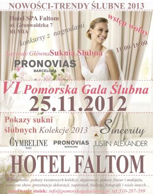 VI Pomorska Gala Ślubna już 25 listopada