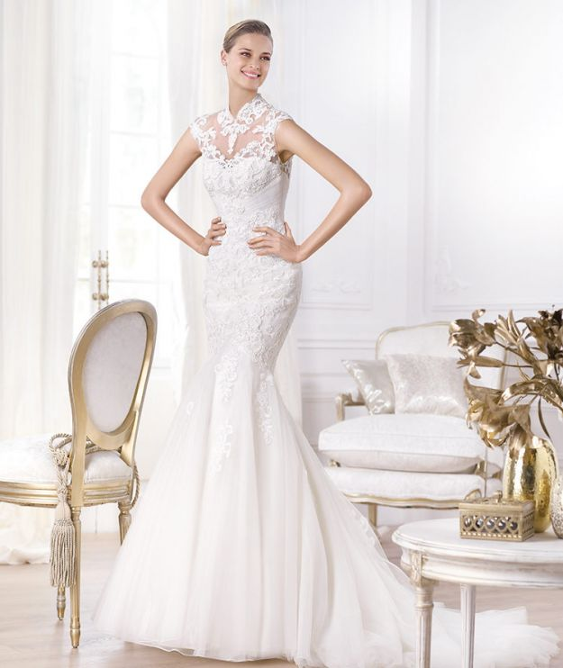 Suknie ślubne - trendy na 2014 rok