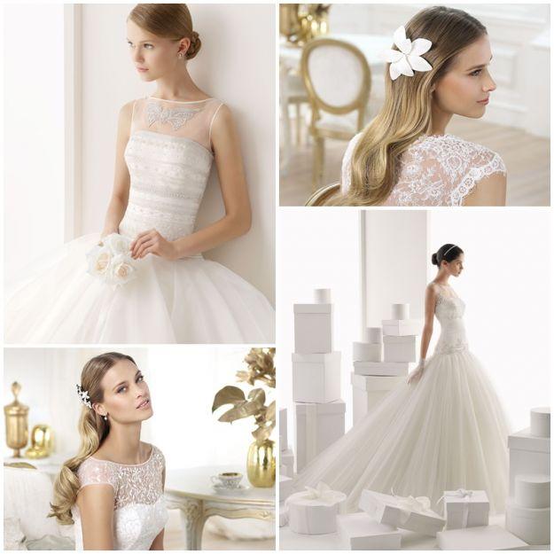 Suknie �lubne - trendy na 2014 rok