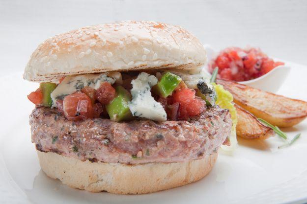 Hamburgery z mięsa kurczaka