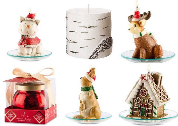 Najpiękniejsze świece bożonarodzeniowe