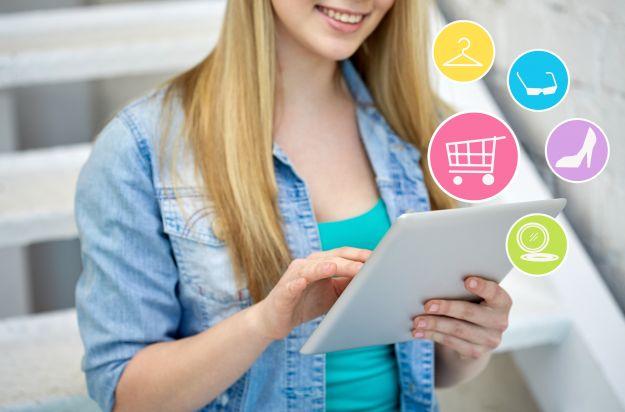 Co kobiety najczęściej kupują w internecie?