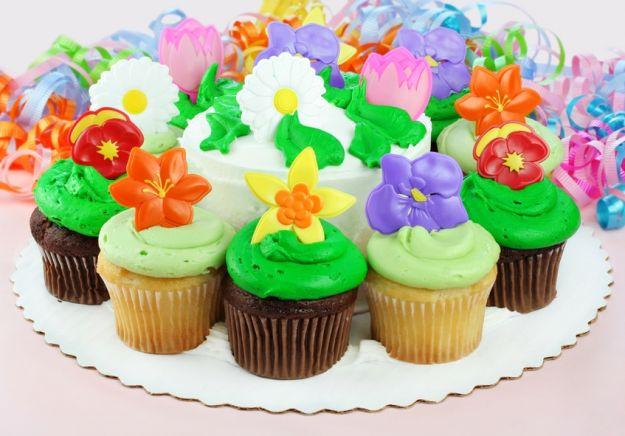 Kolorowe muffinki dla najmłodszych