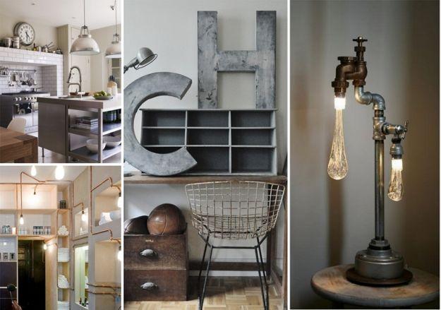 Urok industrialnej stali w mieszkaniu