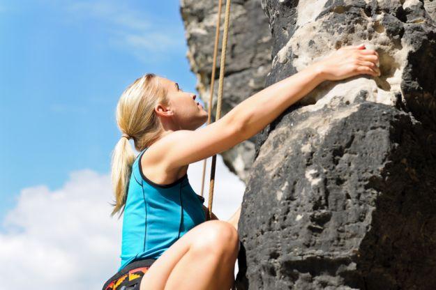 Wspinaczka - fascynujący i wymagający sport!