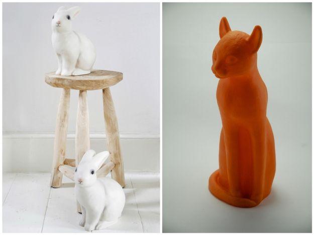 Lampy inspirowane zwierzętami