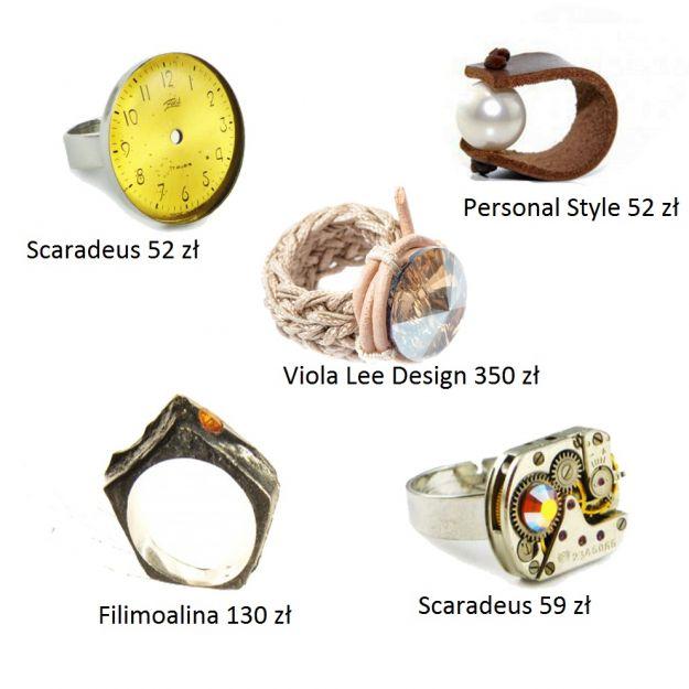 Pierścionki handamade - stylowe i modne