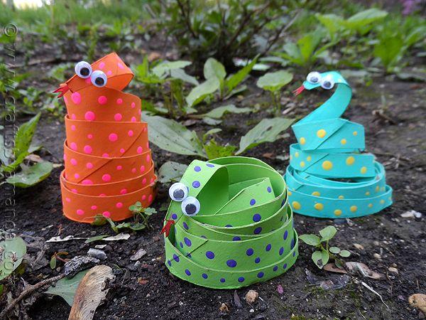 Prace plastyczne z rolki po papierze