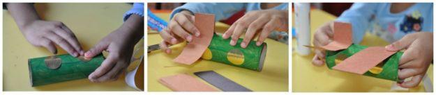 5 pomysłów na prace plastyczne z rolki po papierze