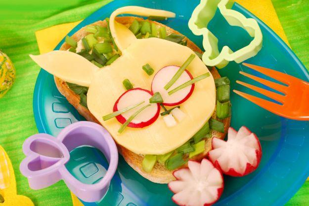 Wielkanocne śniadanie malucha