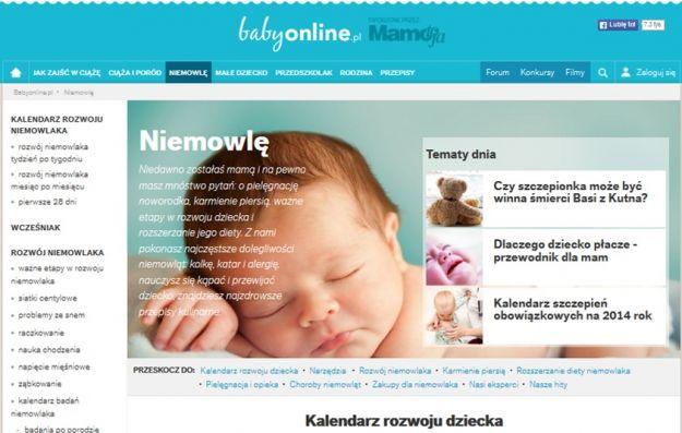 Nowa odsłona portalu Babyonline.pl