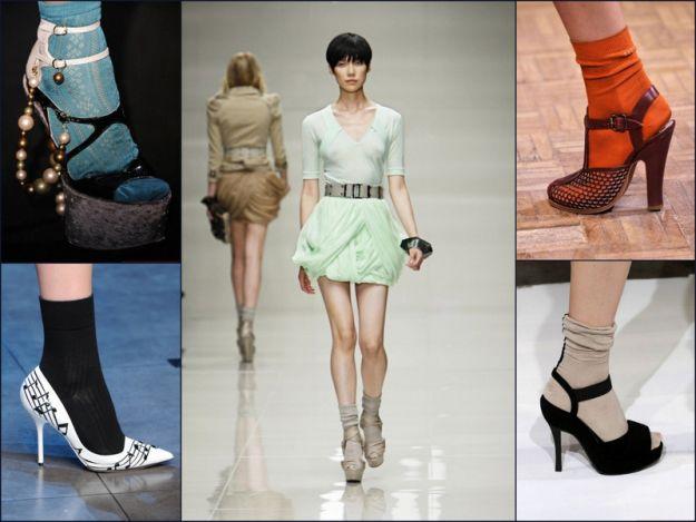 Skarpetki i pantofle - niezwykłe połączenie