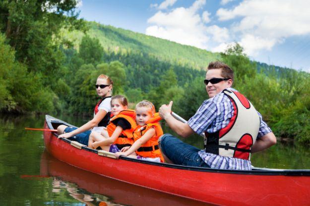 Rodzinne spędzanie czasu na świeżym powietrzu