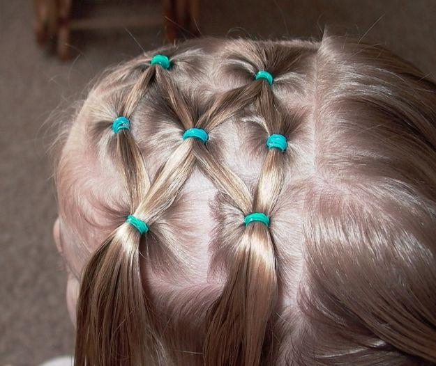 Причёски с маленькими резинками фото