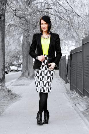 Błyszczące i kolorowe stylizacje na blogu Shiny Syl!