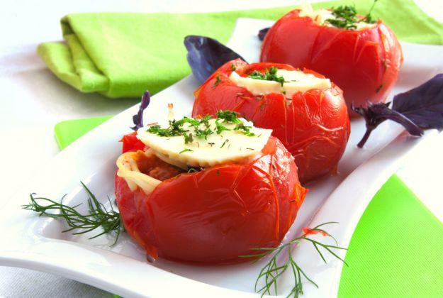 Grillowane pomidory z fetą