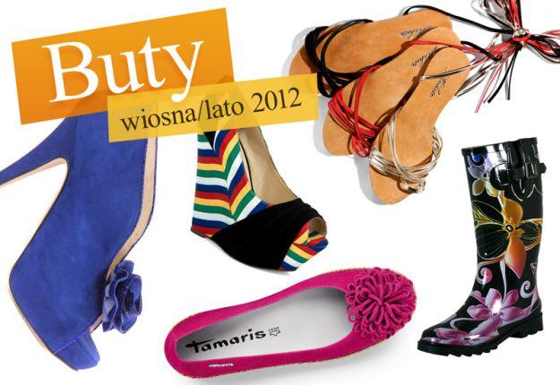 Buty na wiosnę i lato 2012 - jakie kupić?