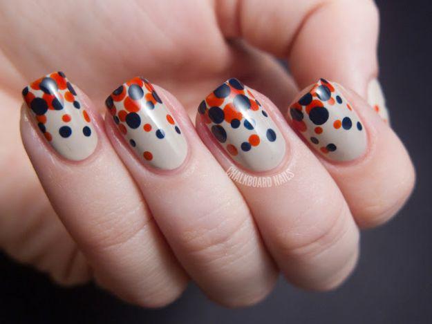 Manicure w kropki - pomysły