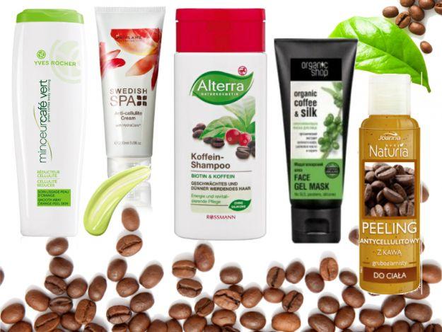 Kosmetyki z kawą - odżywiają, ujędrniają i walczą z cellulitem!